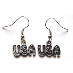 Boucle d'oreilles USA Country Western