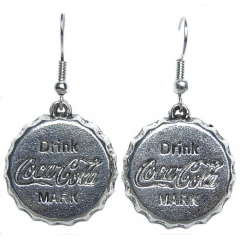 Boucles d'oreilles Coca Country Western