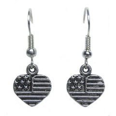 Boucles d'oreilles Coeur Country Western