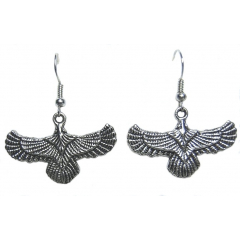 Boucles d'oreilles Aigle Country Western